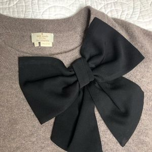 Kate Spade Fitted Bow Sweater NJMU5428 C258